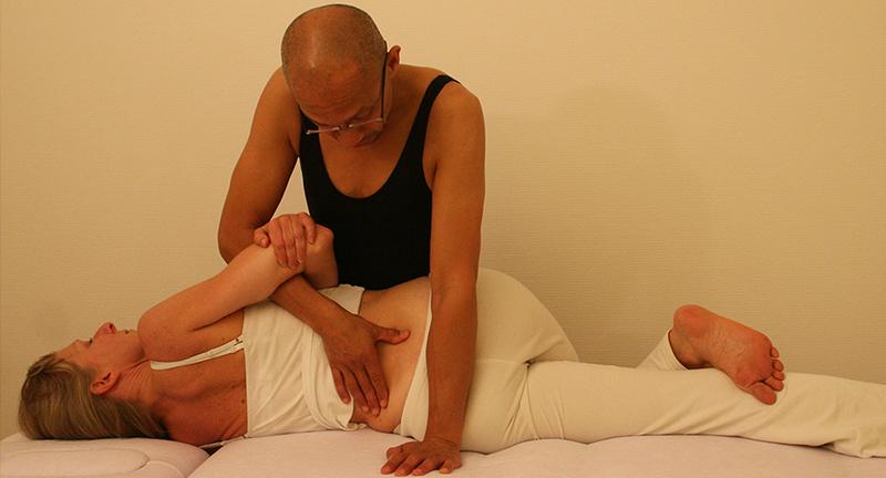 Articulaire Bewegingen Lumbaalrotatie